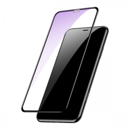 Защитное стекло Tempered glass screen protector with crack-resistant edges and anti-blue light